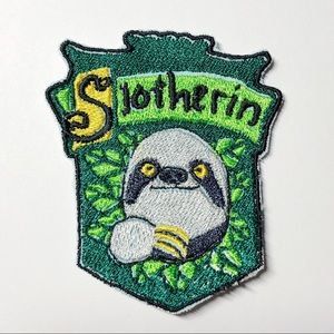 Slotherin Harry Potter Cute Embroidered Patch